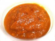 Apricot Souffle Hot Brandy Sauce