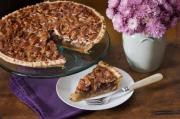 Downside-Up Apple Pecan Pie