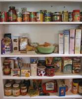 Stock your pantry with healthy convenient foods which are low fat and low sodium.
