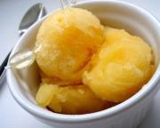 Papaya Honey Sherbet