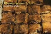 Turkish Vişneli Tahinli Tatlı