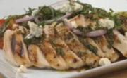 Grilled Chicken with Grilled Asparagus and Blue Cheese Salad Part 2- Preparing Salad