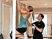 Chin-Up or Pull-Up Back Exercise