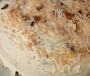 Homemade Coconut Cream Cake