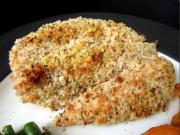 Baked Parmesan Chicken Tenders and Baked Potatoes