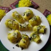 "Chickpea Ideas (""khandvi"")"
