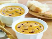 Wegmans Spicy Pumpkin Bisque with Toasted Pumpkin Seeds