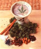 Bhang-Marijuana Milk