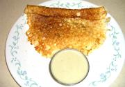 Rava Dosa and Chutney