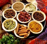Storing spices in containers to retain their flavor and freshness.
