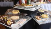 Tantalizing Easter brunch dessert display