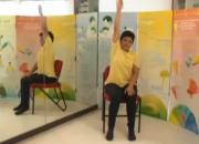 Upper Body Exercise On A Chair