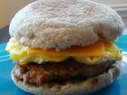 Make Ahead: Turkey Sausage and Egg Breakfast Sandwiches