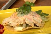 Grilled Chicken Tostada Americano