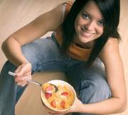 A well balanced diet for teenagers should include high calorie foods.