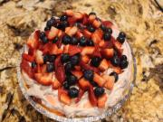 Cheryls' No Bake Fruit Split Pie