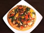 Cheese Vegetable Pizza