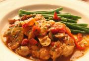 Seasoned Chicken Cacciatore