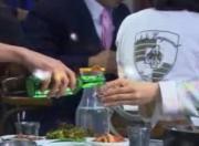 serving drink