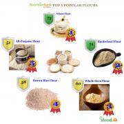 Top 5 Healthiest Flours