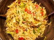 Old Fashioned Cabbage Salad
