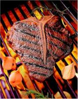 Porterhouse Steak on the Grill