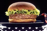 The cobra burger, served in Indonesia, looks no different than a beef or chicken hamburger