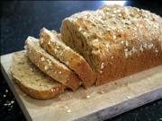 Sesame Oatmeal Bread