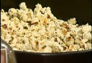 Homemade Organic Spiced Popcorn