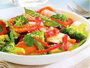 Vegetable Stir-Fry with Lemon Butter Sauce