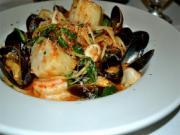Spaghetti With Seafood Marinara Sauce