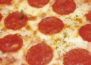 Enjoy eating pepperoni in pizza