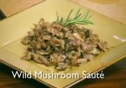 Simple Wild Mushroom Sauté