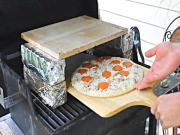 Homemade Brick Oven Pizza - On a Gas Grill