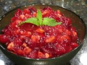 Cranberry Ginger Relish