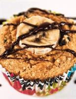 Banana Chocolate Chip Millet Muffins