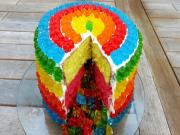 Rainbow Gummy Bear Pinata Cake