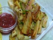 Healthy Yuca or Cassava Fries - Shallow Fried Mogo