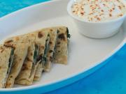 Oats and Spring Onion Parathas