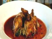 Stuffed Quail Made With Dorot Herbs