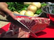 Barbecued Prime Rib Steak
