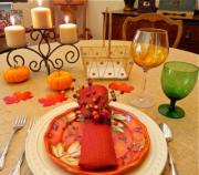 SimplyDeliciousLiving.tv's Holiday Table Setting Ideas!  Make Every Meal An Experience!