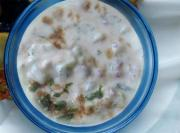 Yogurt and Onion Dressing