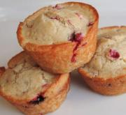 Quick Cranberry Muffins