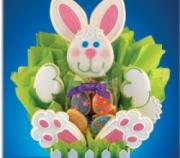 Easter bunny is a favorite dessert