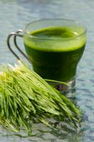 Juice of wheat grass is a very effective natural cure for cancer