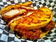 Deep Fried Chicken N Waffles