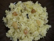 Narali Bhaat is the coconut rice variety from Maharashtra, India