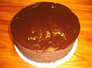 Chocolate Cake with White Chocolate Mousse Part 3  - Finalization