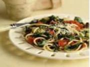 Italian Pasta with Spinach and Cannellini Beans